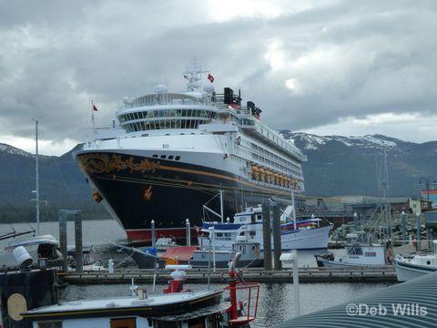 Disney Wonder Ketchikan Alaska