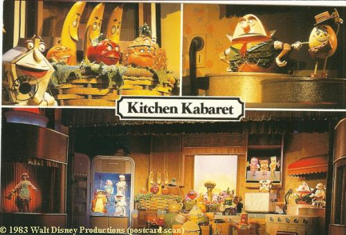 Kitchen Kaberet - The Land Epcot Postcard