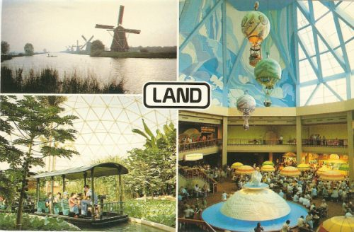 The Land Epcot Postcard