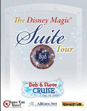 Deb and Steve Suite Tour Magnet