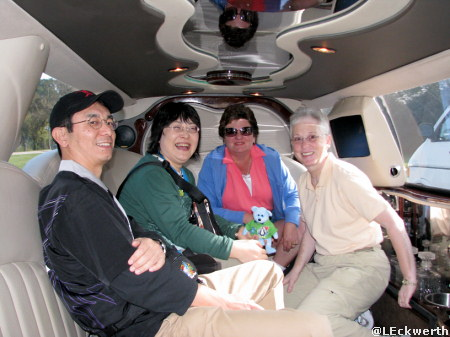 Deb, LindaMac, Masayo and Mamoru