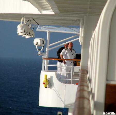 Captain Docking at Castaway Cay