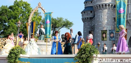 Merida's Royal Celebration