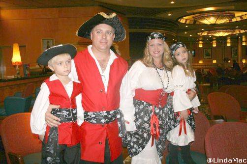 Pirate Costume Contest Winners