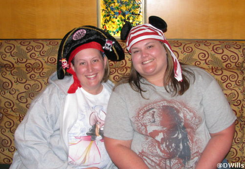 MouseFest Pirate Cruisers Kimmie and friend