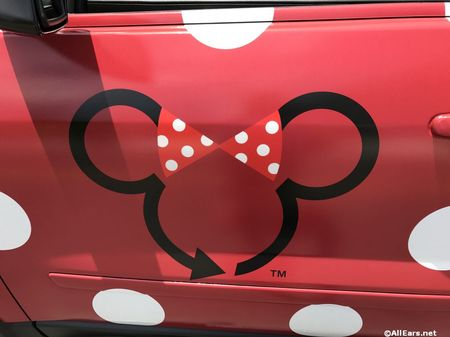 Disney's Minnie Van Service