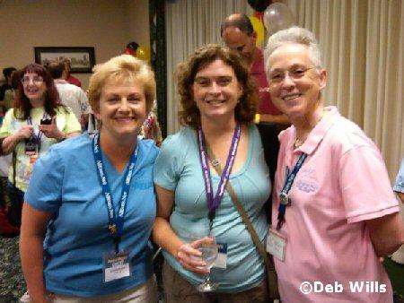 Debbie, Alice, Deb