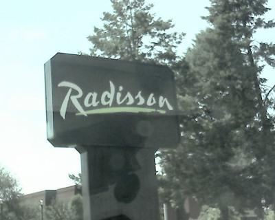 Radisson Signage