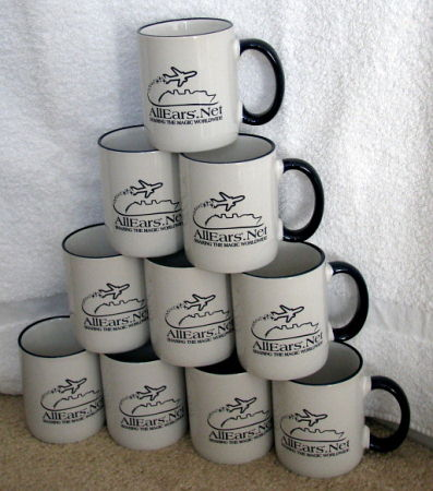 All Ears Mugs for Friday Night Meet before the Magic