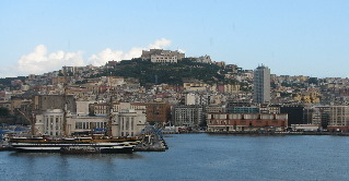 Arriving in Naples