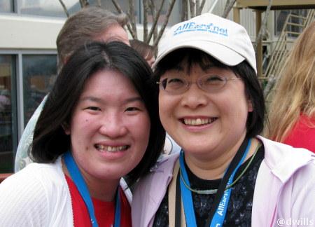 Masayo and Nozomi