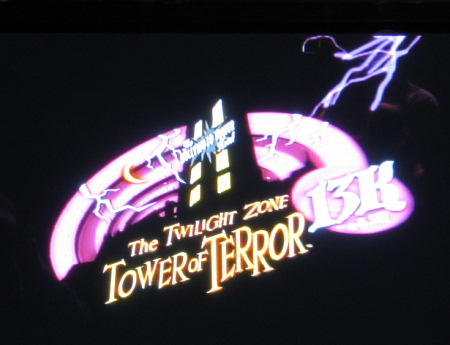 Tower of Terror Race Logo