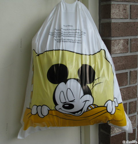 Laundry Bag at Port Orleans