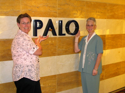 Linda and Deb at Palo