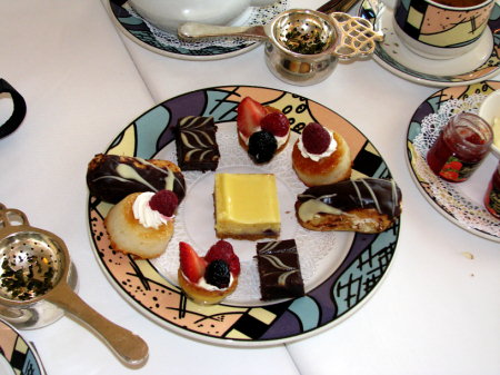 High Tea at Palo- Disney Magic
