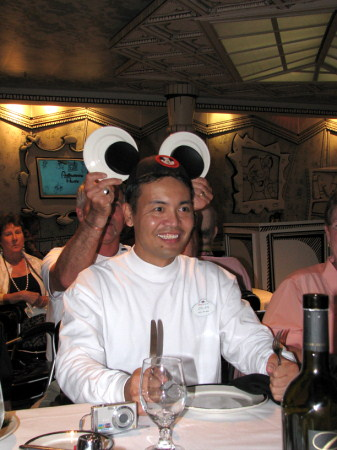 Mickey Mouse Club Dinner - Disney Magic