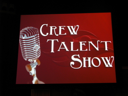 Crew Talent Show Disney Magic