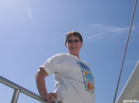 Snorkle boat in Aruba
