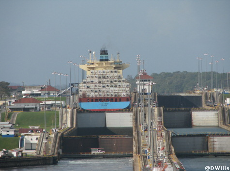 Gatun Lock  Panama Canal