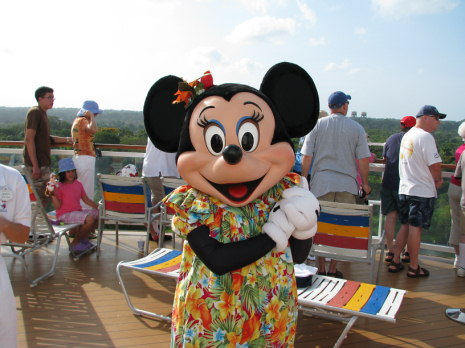 Minnie at the Panama Canal