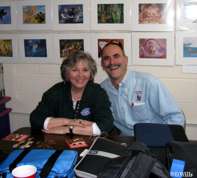 Shelia and John Rick Central Jersey Pin Traders