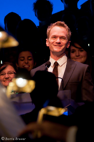 Neil Patrick Harris Epcot's Candlelight Processional