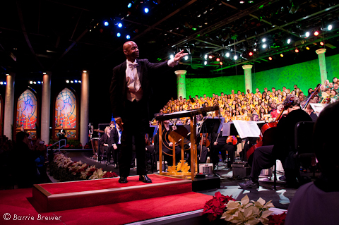 Dr. William Powell Epcot's Candlelight Processional