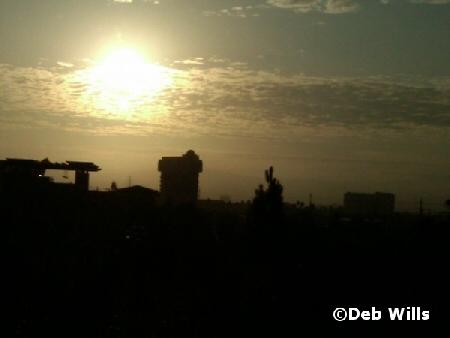 DLR at dawn