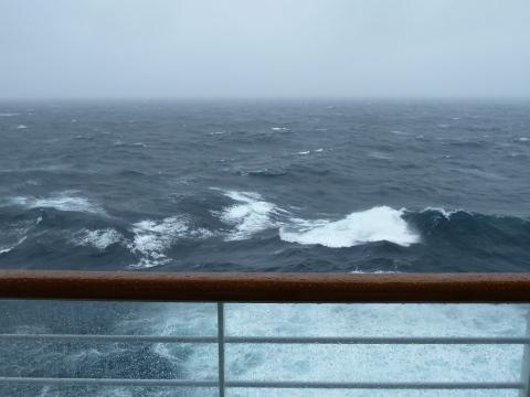 Rough Seas Disney Wonder