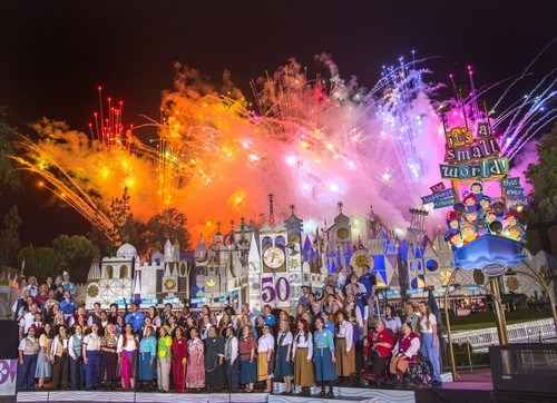 Small World Celebration Disneyland