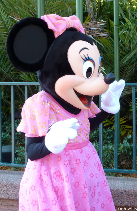 Minnie's new Costume at Disney's Hollywood Studios