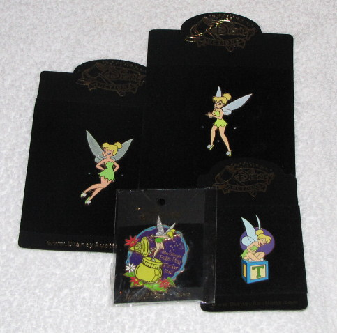 Tinker Bell Disney Auction and LE Pin Lot