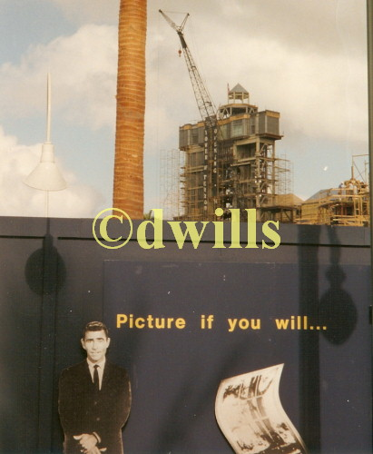 Tower of Terror Construction Photo #2
