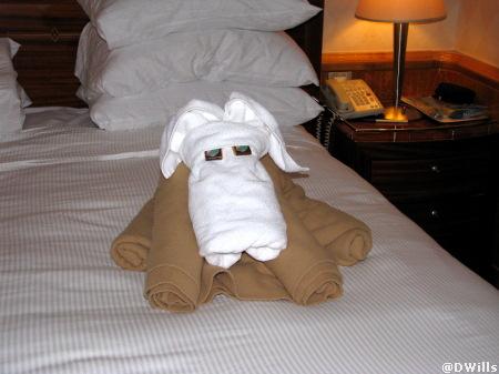 Towel Animal Disney Magic