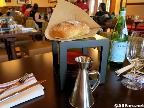 Trattoria al forno Bread and Olive Oil