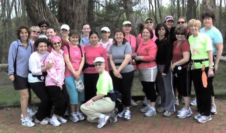 Breast Cancer Training Walk
