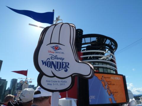 Disney Wonder Alaska Cruise Sailaway