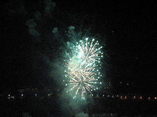 Fireworks at Port Villefranche