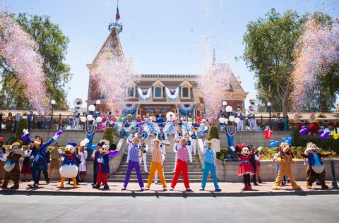 Disneyland 61st Birthday