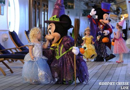 Halloween on the Disney Cruise Line