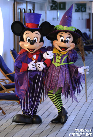 Mickey and Mickey on Disney Cruise Line