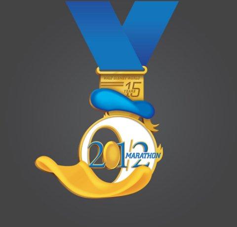 2012 Half Marathon Medal