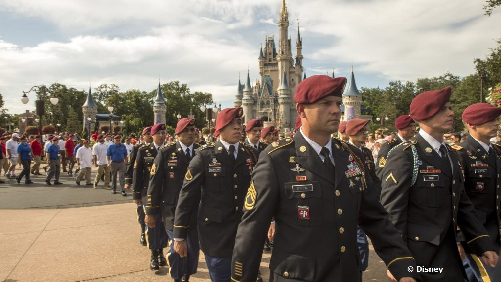 u s army s 82nd airborne division celebrated at walt disney world