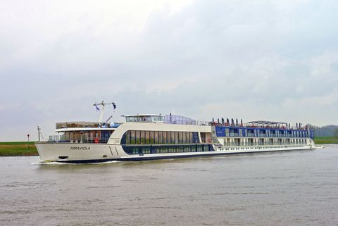 AmaViola Christened - Adventures by Disney River Cruises