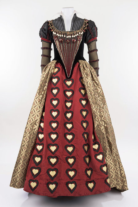 Disney Archives -  Red Queen's Dress