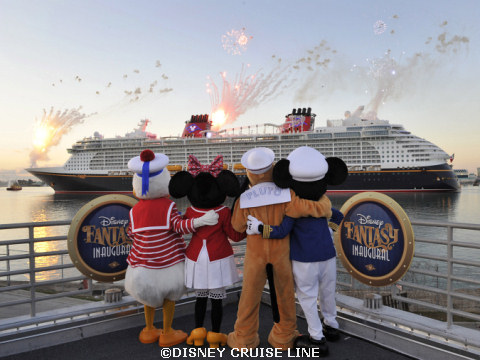 Disney Fantasy Arrives at Port Canaveral