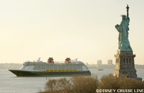 Disney Fantasy in New York City