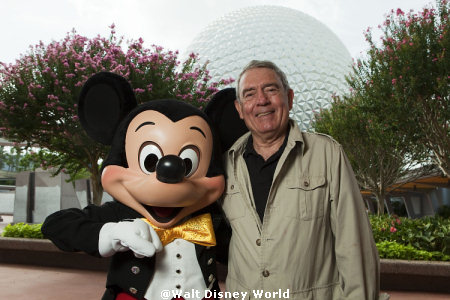 Dan Rather and Mickey Mouse