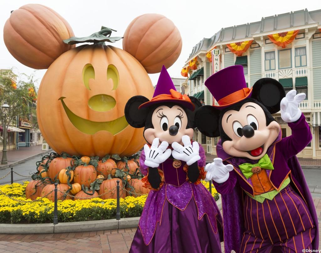 Halloween time at disneyland disney and florida - Disney halloween images ...