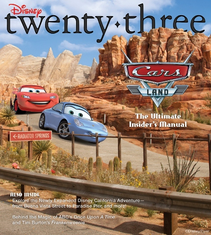 Disneytwenty-three Fall Cover